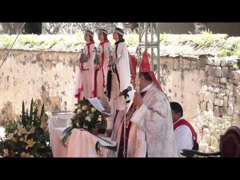 Fiesta Diocesana en honor a los Beatos Cristóbal Antonio y Juan, Mártires de Tlaxcala 2015