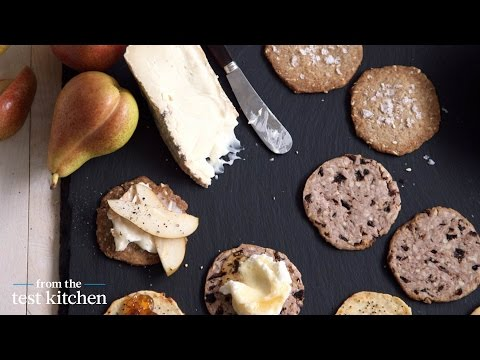 Make-Ahead Cheddar-and-Gruyere Crackers – From the Test Kitchen