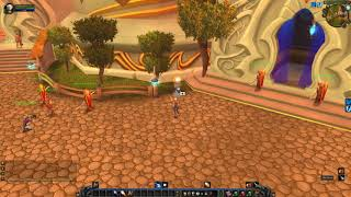 Blood Elf Starting Area - closest Mailbox, WoW TBC