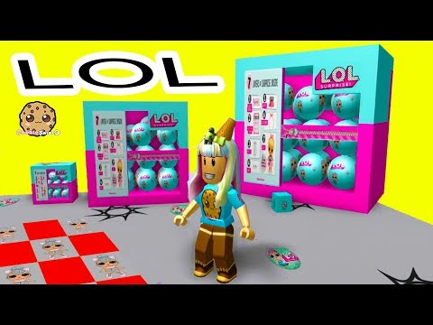Giant LOL Surprise Box ! Roblox Obby + Random Worlds Cookie Swirl C Game Play