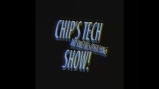 Chip's Tech (And Sometimes Other Things) Show!: Episode 2