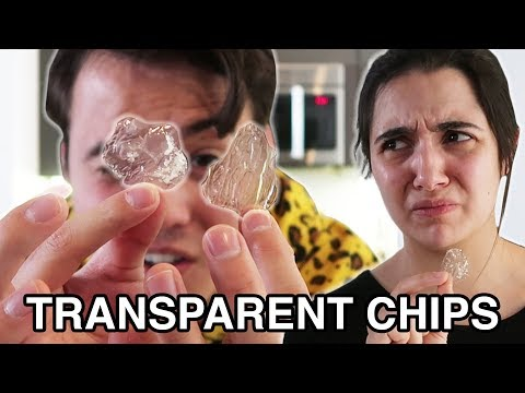 We Made Transparent Potato Chips