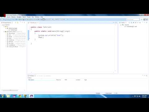 Java Tutorial 1: Hello Java! Getting Started With Eclipse! Mp3