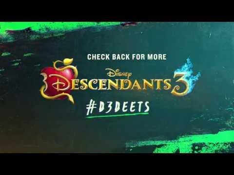 On Location | #D3Deets | Descendants 3
