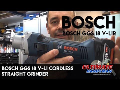 BOSCH GGS 18 V-LI CORDLESS STRAIGHT GRINDER