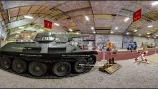 Т34 «тридцатьчетверка» видео 360