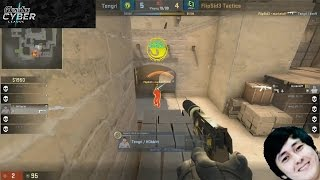 Tengri.Hobbit vs. markeloff Flying shot with USP-s @ Adrenaline Cyber League Finals #AfterGame