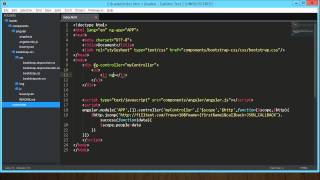 Create an AngularJS Loading Indicator
