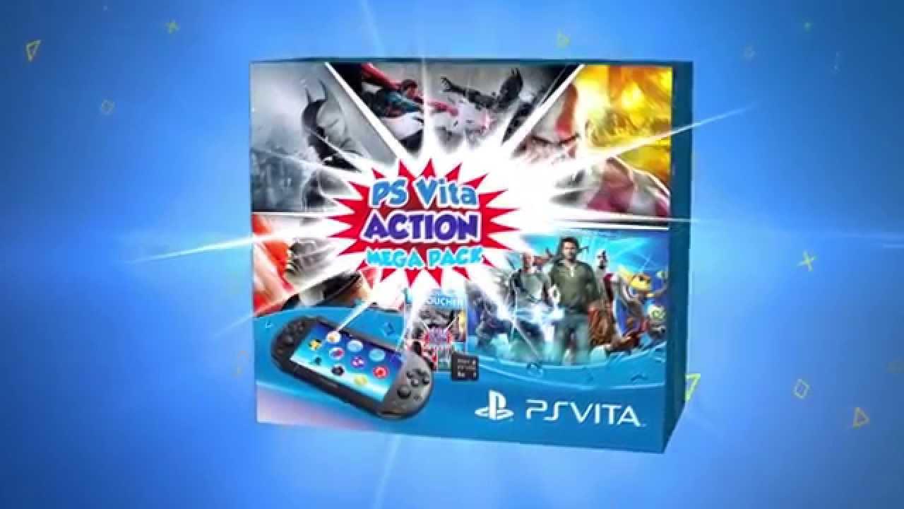 PS Vita Action Mega Pack bundle launches this summer