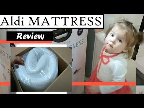 Aldi 10″ Foam Mattress Review!!