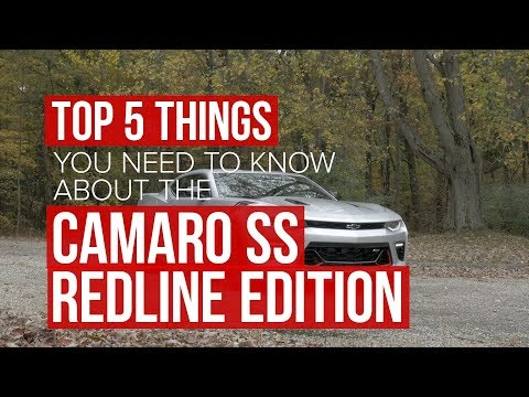 2018 Chevrolet Camaro SS Redline Edition: Five things to know