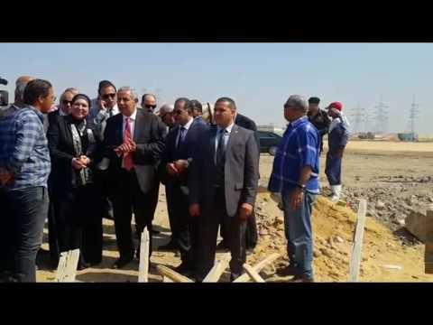 زيارة الوزير/ طارق قابيل لمحافظة بورسعيد