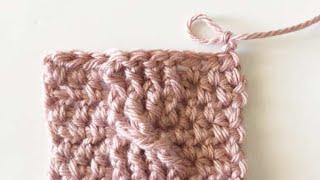 Crochet Cable Twist - Part 2
