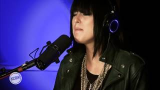 """Phantogram performing """"Black Out Days"""" Live on KCRW"""