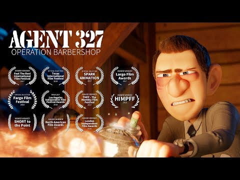 "Award Winning Short Movie: ""Agent 327: Operation Barbershop"""