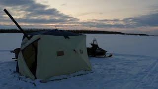 Показать рыбалку зимнюю на севере