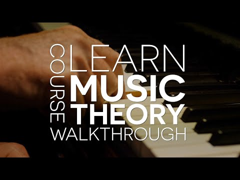 Learn Music Theory  - New Course Announcement and Walkthrough