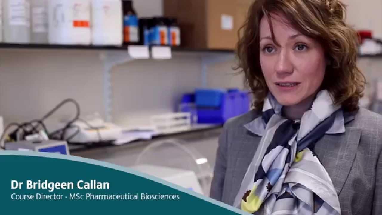 Course Director Profile: Bridgeen Callan - MSc Pharmaceutical Biosciences