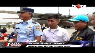 Kepala Staf Angkatan Udara (KSAU) Marsekal TNI Yuyu Sutisna sangat mengapresiasi inovasi yang dilakukan Chaerul. Sebagai pimpinan TNI AU sekaligus Ketua Umum Pengurus Besar Federasi Aero Sport Indonesia (Fasi), KSAU menyambut positif dan mengapresiasi pencapaian Haerul hingga mampu membuat, merakit, dan menerbangkan sendiri pesawat kreasinya sehingga ia mengundangnya datang ke Mabes TNI AU.  --------------------------------------------------------  Follow akun media sosial tvOne lainnya:  Twitter:    https://twitter.com/tvOneNews  Facebook:    http://facebook.com/tvOneNews  Instagram:    http://instagram.com/tvOneNews  --------------------------------------------------------------------------------- #tvOnenews