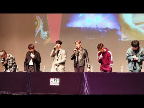 180910] GOT7 JAMSIL FANSIGN - Mag Con - Video - Download MP3