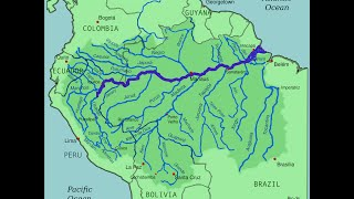 Trick To Remember Countries Drained By Amazon River