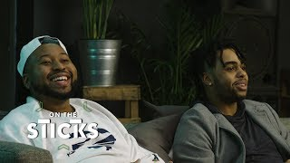 D'Angelo Russell and DJ Akademiks Test Their Survival Skills in 'PUBG' | On the Sticks