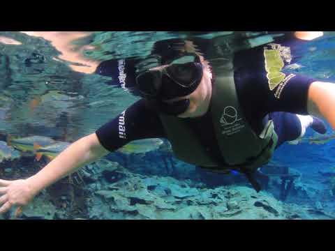 Flutuação no Aquiario Natural em Bonito - MS