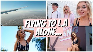 I TRAVELLED TO L.A ALONE AT 17, THIS IS WHAT HAPPENED..