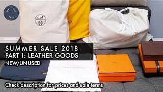 NEW Mens Luxury Summer Sale 2018 Pt. 1 – Leather Goods: Hermès, Louis Vuitton, Fendi & More