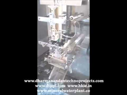 Milk & Butter Pouch Filling Machine