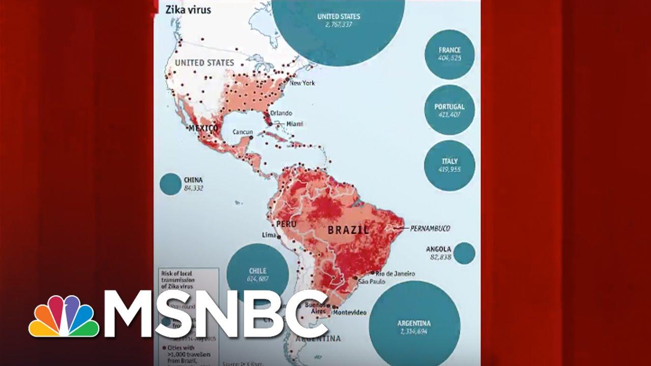 Zika 'Spreading Explosively,' Says WHO | Morning Joe | MSNBC thumbnail