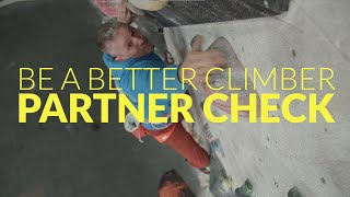 Be a Better Climber: how to do a partner check by teamBMC