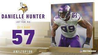 #57: Danielle Hunter (DE, Vikings) | Top 100 Players of 2019 | NFL