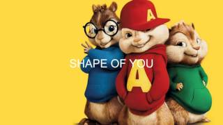 Shape Of You - Chipmunks version