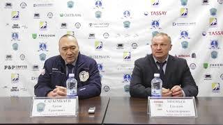 Пресс- конференция по итогам двух матчей «Алтай Торпедо» - «Горняк»
