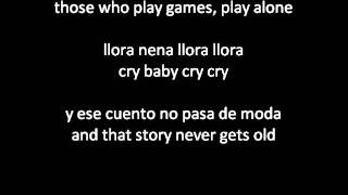 Daddy Yankee - Ella Me Levanto (She Picked Me Up) ENGLISH/SPANISH lyrics/letra