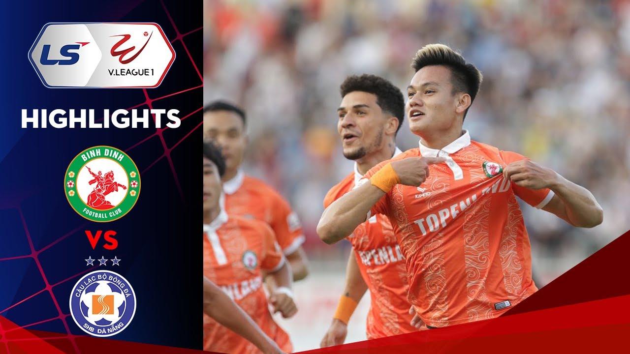 Highlights | Topenland Bình Định - SHB Đà Nẵng | Tấn Tài tỏa sáng, Quy Nhơn mở hội
