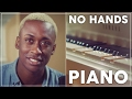 Play That Song - Train - PLAYING PIANO W NO HANDS!!