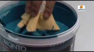 Испанская шелковая краска Monto Velato Terciopelo 2,1л на 15 м. кв. от компании DekorMia - видео