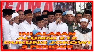 Download Video 3 Alasan Alumni 212 Mendukung Jokowi Dua Periode MP3 3GP MP4