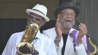 Fats Domino Tribute at Jazz Fest 2018-04-28 ALL BY MYSELF