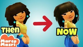 All Characters THEN and NOW | Subway Surfers