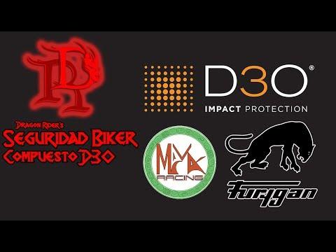 🐲 D3O Tecnología de protección Biker