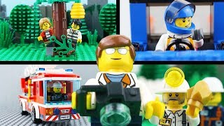 LEGO City Fail STOP MOTION LEGO City Brick Building Fail COMPILATION | LEGO City | By Billy Bricks