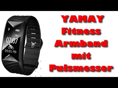 YAMAY Fitness Armband mit Pulsmesser - Top Fitness Tracker unter 40 Euro