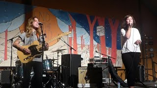 Gambar cover Julien Baker & Lucy Dacus (Boygenius) - Stay Down @ End of the Road 2018
