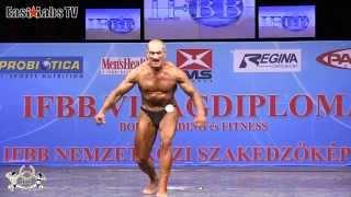 2012 World Championships BUDAPEST   master bodybuilding 60 65y   2
