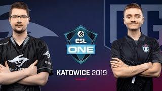 Dota 2 - Team Secret vs. Team OG - Game 2 - Group A R1 - ESL One Katowice 2019