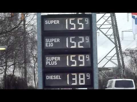 Die Umarbeitung um 80 Benzinen auf 92