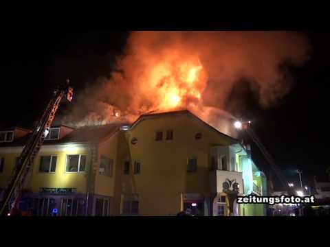 Gebäudebrand in Pfaffenhofen